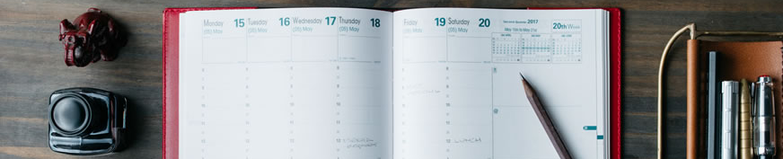 Planners & Date Books