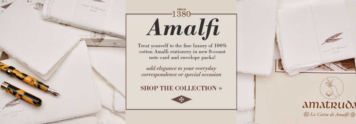 amalfi amatruda stationery at European Paper Company