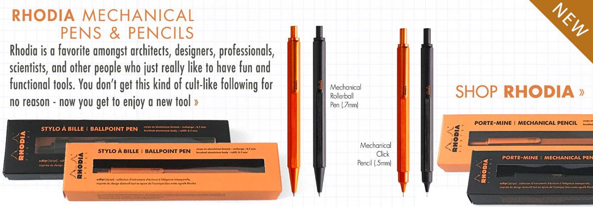 rhodia pen pencil at European Paper Company